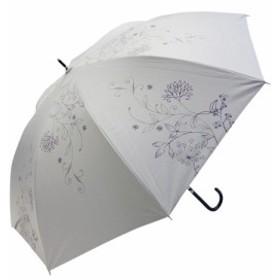 Fair mode 晴雨兼用長傘 58cm パルテール SJ-1810 ホワイト