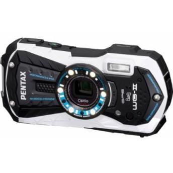 PENTAX 防水デジタルカメラ Optio WG-2GPS (グロスホワイト) OPTIOWG-2GPSW(中古品)