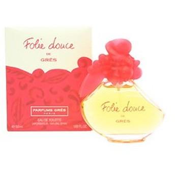 グレ GRES フォリードゥース EDT・SP 50ml 香水 フレグランス FOLIE DOUCE DE