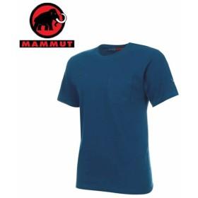 マムート MAMMUT Tシャツ 半袖 メンズ コットン ポケット SS T Shirt  1017-10001 50134