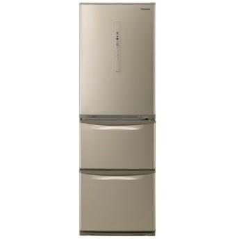 NR-C37HC-N 冷蔵庫 パナソニックノンフロン冷凍冷蔵庫 シルキーゴールド [3ドア /右開きタイプ /365L]