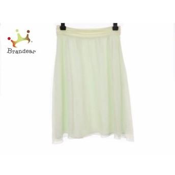 ハロッズ HARRODS スカート サイズ2 M レディース ライトグリーン スペシャル特価 20190830