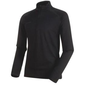 マムート(MAMMUT) メンズ トップス パフォーマンス サーマルジップ ロングスリーブ ファントム 1016-00090 00150 長袖 アウトドアウェア カジュアル Tシャツ