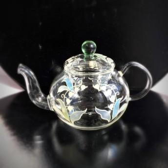 【鈴蘭すずらんスズラン】耐熱ガラスのティーポット|母の日ギフト・父の日ギフト・結婚祝い・還暦