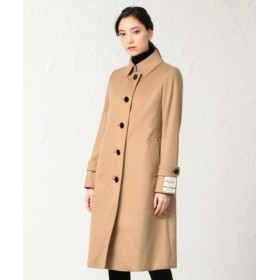 (SANYO COAT/サンヨーコート)◆◆<Rain Wool>super180'sウールバルマカーンコート/レディース ベージュ