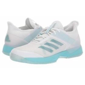 アディダス レディース スニーカー シューズ Adizero Ubersonic 3 X Parley Blue Spirit/Footwear White/Footwear White