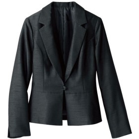 30%OFF【レディース】 テーラードジャケット(フォーマル・卒業式・入学式) - セシール ■カラー:ブラック(シャンタン) ■サイズ:9AR,13AR,15ABR,7AR,11AR,13ABR
