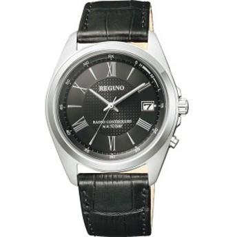 4974375462212 レグノ メンズソーラー電波腕時計 シルバー (包装・のし可)