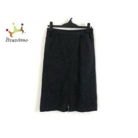 トゥモローランド TOMORROWLAND スカート サイズ36 S レディース 美品 ダークグレー 新着 20190523