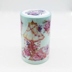243 /箱花飾り:箱/装飾テープマスキングテープ/ムティアンセングーwood3f