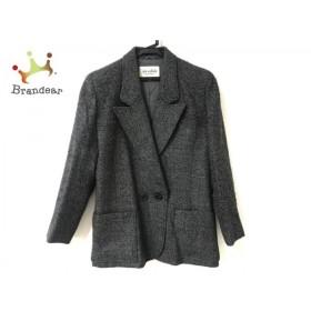 ジュンアシダ JUN ASHIDA ジャケット サイズ9 M レディース 黒×グレー   スペシャル特価 20190823