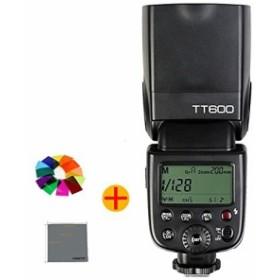 FomitoR Godox TT600 カメラフラッシュ 内蔵2.4GワイヤレスXシステム  ガイドナンバーGN60  1/8000s高速シンクロ   AD360II-C