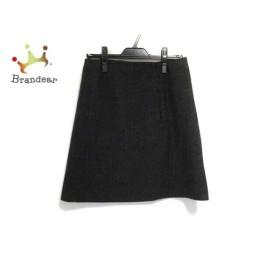 シーバイクロエ SEE BY CHLOE スカート サイズ36 S レディース 新品同様 チャコールグレー  値下げ 20190828