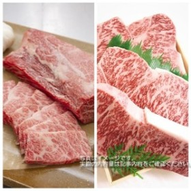 BZ17◇【淡路ビーフ】ロースステーキ&焼肉用セット(合計1kg)