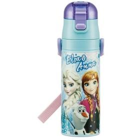 pos.437182 アナと雪の女王 Anna&Elsa 超軽量・コンパクトロック付 ワンプッシュダイレクトステンレスボトル SDC4