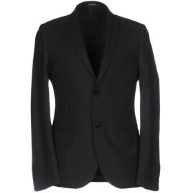《期間限定 セール開催中》DANIELE ALESSANDRINI HOMME メンズ テーラードジャケット ブラック 52 ポリエステル 70% / レーヨン 30%