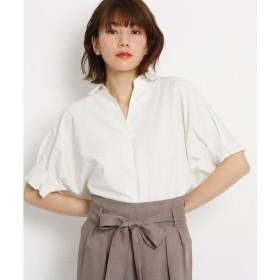 AG by aquagirl / エージー バイ アクアガール 【洗える】タックドルマンスキッパーシャツ