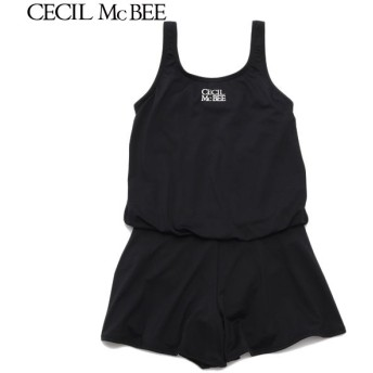 CECIL McBEE セシルマクビー ブラウジングセパレート クロ 女児ガールズブランドスクール スクール水着 N119-940