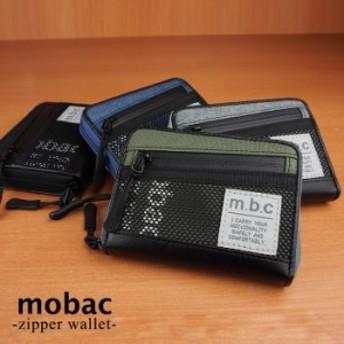 財布 メンズ 小銭入れ コインケース ラウンドファスナー 4色展開 カジュアル mobac モバック ギフト 祝い プレゼント