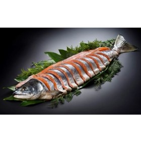 北海道産新巻鮭姿切身約2~2.3kg