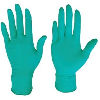 川西 ニトリル使いきり手袋粉無250枚入グリーンLサイズ 2061GRL