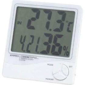 4961386824009 デジタル温湿度計(包装・のし可)