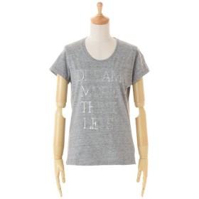 TOMORROWLAND / トゥモローランド コットンジャージー ロゴTシャツ(DREAM MORE THINK LESS)