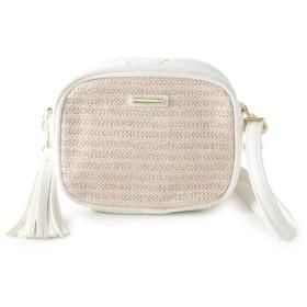 SHOO・LA・RUE/DRESKIP(シューラルー/ドレスキップ) 異素材ミックスショルダーバッグ