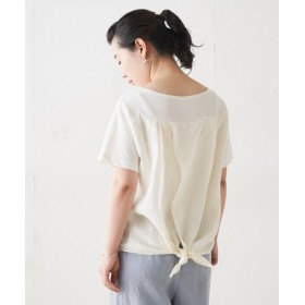 BEARDSLEY / ビアズリー 後ろ麻Tシャツ