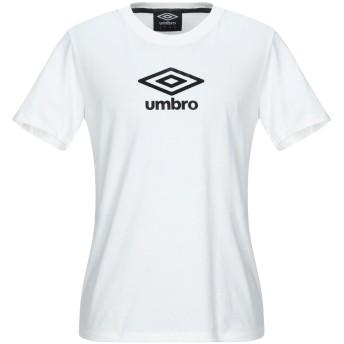 《9/20まで! 限定セール開催中》UMBRO メンズ T シャツ ホワイト M コットン 100%