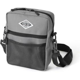 (REAL STYLE/リアルスタイル)ミニスクエアショルダー バッグ レディース メンズ 男女兼用 ユニセックス かばん カバン 鞄 ミニショルダーバッグミニショルダー ミニバッグ ポシェット ウエ/レディース ダークグレー