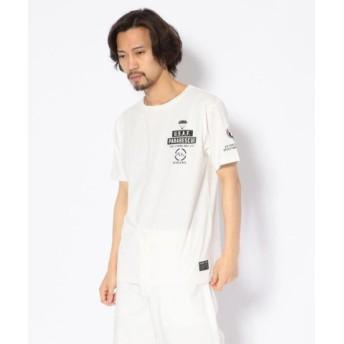 (AVIREX/アヴィレックス)クルーネック Tシャツ/CREW NECK T-SHIRT PJs/メンズ WHITE