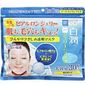 肌ラボ 白潤 冷感ジェリーインマスク 30枚(350mL)  ロート製薬