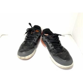 ナイキ NIKE スニーカー 27.5 メンズ フジロッド 318359-061 黒×レッド レザー【中古】