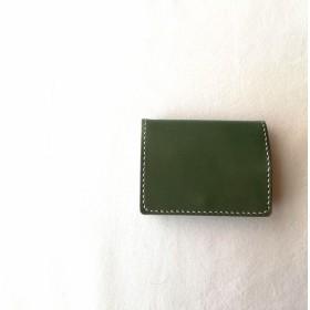 【送料無料】総手縫い 大容量BOX型コインケース