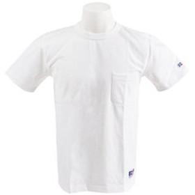 【Super Sports XEBIO & mall店:トップス】【オンライン特価】 PRO BIG 半袖Tシャツ POCKET RBM19S0017 WHT