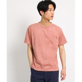 THE SHOP TK(Men)(ザ ショップ ティーケー(メンズ)) スエード半袖Tシャツ