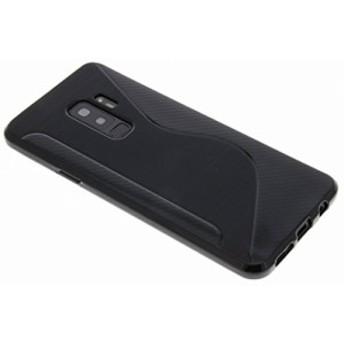 Galaxy S9 Plus ケース TPU 耐衝撃 docomo SC-03K au SCV39 ギャラクシー スマホケース 黒 ブラック【送料無料】ポイント消化