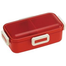スケーター PFLB6 オレンジレッド [ふわっと弁当箱 レトロフレンチOR] ランチボックス・弁当箱