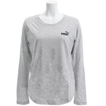 【Super Sports XEBIO & mall店:トップス】ESS 長袖Tシャツ 853890 04 GRY