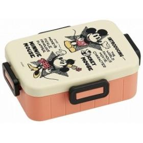 スケーター 4点ロックお弁当箱 650ml ランチボックス ミッキーマウス ビンテージコミック