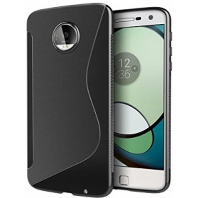 Motorola Moto Z スマホケース ケース TPU 保護 グリップ カバー モトローラ スマートフォン スマホ Moto Z 5.5インチ 専用 滑止め加工