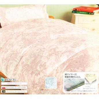 送料無料 出雲 浅尾繊維 羽毛布団5点セット ポーランド産マザーホワイトグースダウン93% CLAUS 日本製 シングルサイズ (m11584)
