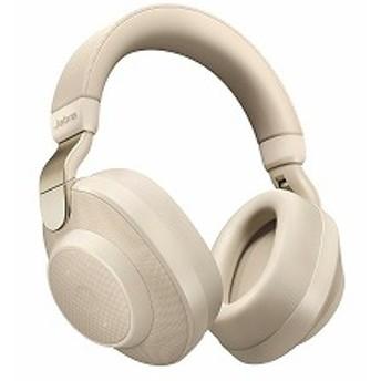 Bluetoothヘッドホン 100-99030002-40 Gold Beige