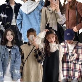 【2枚送料無料】春の新しいスタイル、韓国ファッション、カジュアルTシャツワンピース、カジュアルパンツ、ロングスカート、パンタロン、ボーダ 春っぽい着こなし 大人 カジュアル