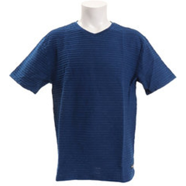 【Super Sports XEBIO & mall店:トップス】【オンライン限定特価】【ゼビオ限定】 Tシャツ [V-ネック] TVNK-19SRL NVY