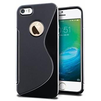 iPhoneSE iPhone5 iPhone5S スマホケース TPU ケース グリップ カバー アイフォン iPhone 5 4インチ 対応 薄型 軽量 滑止め加工 ソフト