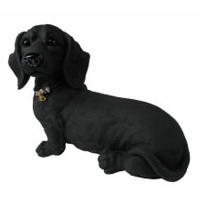 エコステーション 備長炭で出来た犬の置物 とるまワンコ ミニチュアダックス(スムース)1D