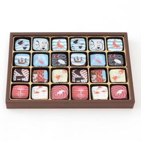 チョコレート ミナモアレトリュフギフトボックス24個入り