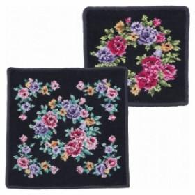 日本製シェニール織 タオルハンカチ×ミニタオルハンカチセット(代引不可)【送料無料】